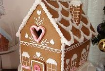 GINGERBREAD HOUSES / Great combined project for the whanau at Christmas. Wonderful creative fun