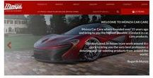 New look website / www.monzacarcare.co.uk