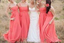 Creative Colour - Watermelon Pink Weddings / Creative ways to use watermelon pink at your wedding.