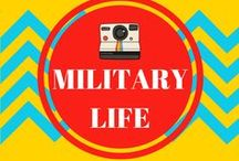 military life / On this board you can find anything dealing with our military life including: PCS tips and tricks, PCS checklist, military stories, and more about being a military spouse.