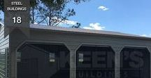 Steel Buildings / Prefabricated Steel Buildings Manufactured in the USA Working with Keen's Buildings, you will quickly learn that our attention to details and professional sales team delivers not only an exceptional product but also the best pricing for steel buildings in the industry.
