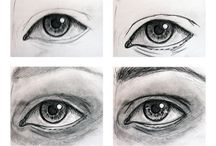How to draw the eyes