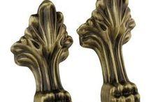 Bathtub feet / Bathtub feet in brass