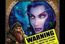 World of Warcraft / I am a world of warcraft fanatic and love to gather resources helpful and entertaining where it involves wow. / by Desiree Elliott