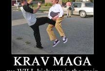 Combat. Martial Arts. MMA. Pugilistic endeavours. War. When push comes to shove etc. / Mano a Mano.  / by Rusty Anzac