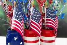 Patriotic Decor & DIYs / Show off your American pride with some of our red, white and blue favorites!