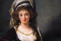 Elisabeth Louise Vigée Le Brun - Artist / Marie-Louise-Elisabeth Vigée-Lebrun was one of the most famous painters during her time.  During her eighty seven-year life, which spanned from 1755-1842, she created well over 600 pieces of artwork.  In a time period where it was uncommon to be a female artist, Marie-Louise Elisabeth Vigée-Lebrun put her best effort forth to overcome this adversity. Vigée-Lebrun's artwork had its own uniqueness that distinguished her as the most prolific female artist of her time. Je Adore!