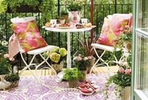 Balcony, Gardening