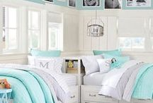 Girls & Guest Bedroom idea's / by Robin Lewis