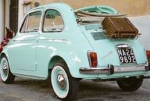 Kleine oude auto'tjes.