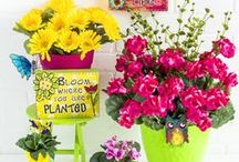 Gorgeous Garden Ideas / Make your outdoor space shine with adorable accents, crafts and DIY ideas!  / by Hobby Lobby