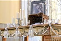 Winter Wedding-Land / There's nothing frosty about this cozy, yet utterly romantic, décor. You can turn your warmest winter wishes into the wedding of your dreams—think muted metallics, dazzling whites and plenty of glowy candlelight. / by Hobby Lobby