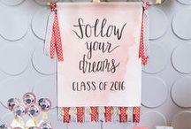 Graduation Gifts & Party Ideas / Discover graduation gift ideas, fun party tips and creative ways to celebrate the graduate in your life!