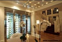 Vin de Garde Custom Wine Fridge   Modern Wine Cellars