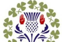 """Ulster-Scots/Scots-Irish / My family is very proud of our Ulster-Scots ancestry. Please note: """"Scots-Irish"""" does NOT always mean a mix of Scots & Irish ancestry, although it could be a part of your ancestral story. Generally, It is a term that refers to SCOTS who settled in Ireland/Ulster. There is no hate in this board, although I understand the fire it may provoke with others of Irish descent. God Bless."""