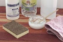 Ménage et entretien de la maison / Dans ce dossier, des recettes pour fabriquer soi-même ses produits d'entretien, des astuces de grand-mère et des remèdes naturels pour nettoyer sa maison du sol au plafond et venir à bout des tâches les plus difficiles.