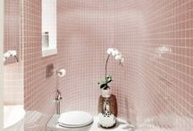 Inspiration bathroom / Interior Design/ Bathroom/ Furniture/ Tiles