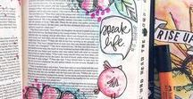 Bible Journaling / Learn all about Bible journaling and illustrate your faith! hand lettering, Tips and tricks, DIY, creative gifts, Bible Journaling, faith planning, journaling. To join, follow this board and my account and email terryn@justasimplehome.com with your Pinterest link. #biblejournaling #illustrateyourfaith
