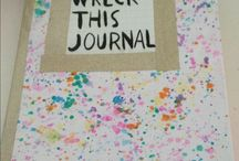 wreck this journal / Wreck this journal pages and other things I like for my own wreck this journal❤️