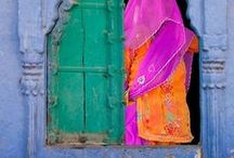 Colour Inspiration / Gorgeous colour inspiration from around the world.