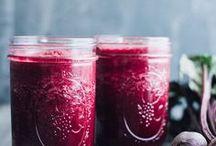 Healthy Drinks / Smoothies, juices & teas.