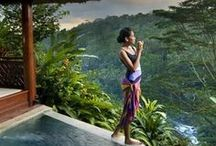 Spas and Retreats / The most beautiful spas and yoga retreats around the world.