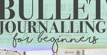 Bullet Journal Ideas / Bullet Journal how to's, begin to bullet journal, bullet journal ideas, bullet journal 101, planners, BuJo, traveler's notebook