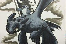 Dragon and Stitch