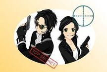 Chasse au Trésor - Espion Agent-Secret / Mission Agent Double. Une mystérieuse enquête dans l'univers trouble des agents secrets. Jeu à télécharger et imprimer pour enfants de 4 à 10 ans