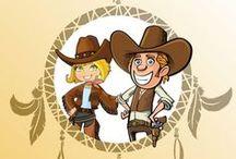 Chasse au Trésor - Cowboy Indien / Le Calumet de la Paix - Une grande aventure dans l'univers des western. Jeu à télécharger et imprimer pour enfants de 4 à 10 ans