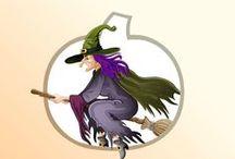 Chasse au Trésor - Halloween / La Potion Monstrueuse - Une aventure Halloween pour monstres, vampires et autres sorcières. Jeu à télécharger et imprimer pour enfants de 4 à 10 ans