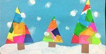 Christmas card ideas / Ideas for creating Christmas cards