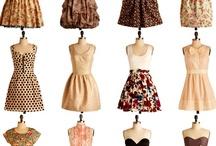 Dresses and Skirts / by Jennifer Chapman