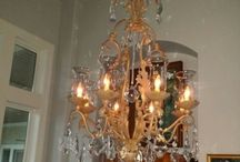 Chandeliers / The right chandlier can turn ordinary into fabulous . . . / by Christine Cox