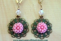My Jewelry Creations ~ Maryann Wilkin Designs  / by Maryann Candito