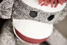 Sock Monkeys / by Angie Clatterbuck