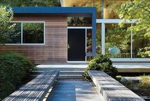 The Modern Home / Exterior / Interiors of modern homes