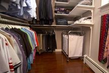 Closet & laundry ideas! / by Allie Crocker