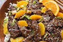 Beef & Pork / Hamburgers | pork chops | pork tenderloin | steaks | stir frys | Steaks | casseroles | pasta dishes | beef pasta | pork pasta | ground beef recipes | ground pork recipes | beef for dinner |  pork for dinner