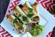Mexican Dishes / Enchiladas, tacos, fajitas, wraps, bakes, chicken enchiladas, beef enchiladas, vegetarian enchiladas, chicken tacos, beef tacos, fish tacos, quesadilla, burrito