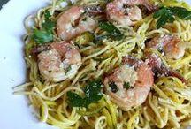 Seafood / Shrimp, crab, fish, salmon, tilapia, fried fish, grilled fish, seafood recipes. Seafood for dinner recipe, scallops, dinner seafood