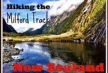 Hiking the Milford Track in New Zealand / Hiking the Milford Track in New Zealand - take a look at the blog for a day by day account of this incredible hiking experience in Fiordland National Park plus tips for preparing and a packing list. http://www.worldwanderingkiwi.com/2015/06/new-zealand-wandering-the-milford-track/