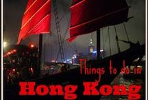 Things to do in Hong Kong / All my top tips for things to do, sights to see and places to eat out in Hong Kong!