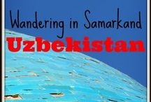 I ♥ Uzbekistan Travel / I sure loved Uzbekistan - the history and the architecture just blew me away. Here are my experiences and some other great tips for travel in Uzbekistan.