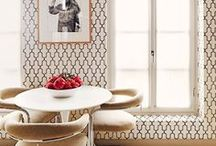 Trellis Wallpaper Inspiration / Inspiration for our new Callista collection: http://bit.ly/callista-collection