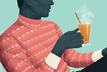 Fashion Illustration Male