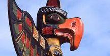 // Totems // / Les Tikis de mythiques sont les symboliques totems de Tahiti mais découvrons ensemble les différents totems à travers le monde.