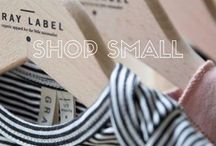 shop small / small shops that we love.  these are all products we own + love.