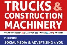 TRUCKS & CONSTRUCTION MACHINERY - international digital magazine / International digital magazine for promoting sales of heavy trucks and commercial vehicles - buses - delivery vans semitrailers - trailers - material handling equipment – container carriers - construction and agricultural machinery - industrial machinery - spare parts and accessories.