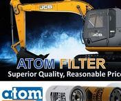 ATOM FILTER / Professional manufacturer of filters for construction equipment and heavy trucks